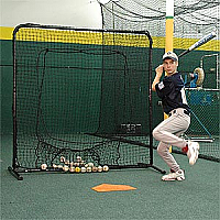 Portable Baseball Softball Catch Net Screen