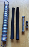Power Spring with Rubber Runners & Bolts Kit
