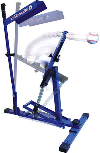 Blue Flame Ultimate Pitching Machine Louisville Slugger UPM 45 shipping to Australia and NZ
